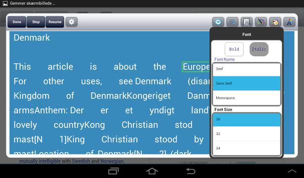 TalkingWeb Talking Browser apk screenshot