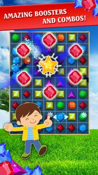 Jewel Quest - Match 3 Puzzle New apk screenshot