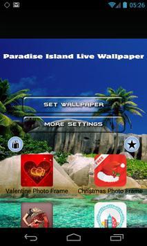 Paradise Island Live Wallpaper poster