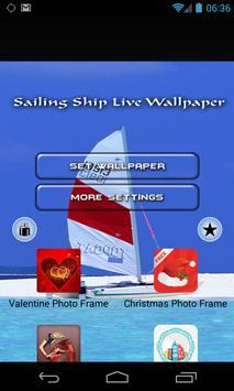 Sailing Ship Live Wallpaper poster