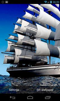 Sailing Ship Live Wallpaper apk screenshot