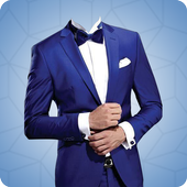 Man's Suit Photo Montage icon