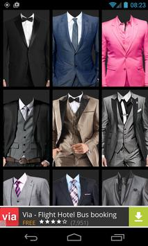 Man's Suit Photo Montage screenshot 1