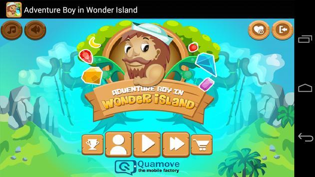 Adventure Boy in Wonder Island poster