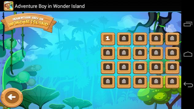 Adventure Boy in Wonder Island apk screenshot