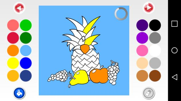 Coloring pages book kids game apk screenshot