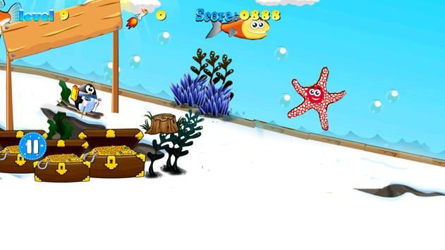 Sponge and Penguin Ski apk screenshot