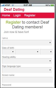 free deaf singles dating