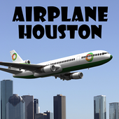 Airplane Houston icon