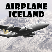 Airplane Iceland icon