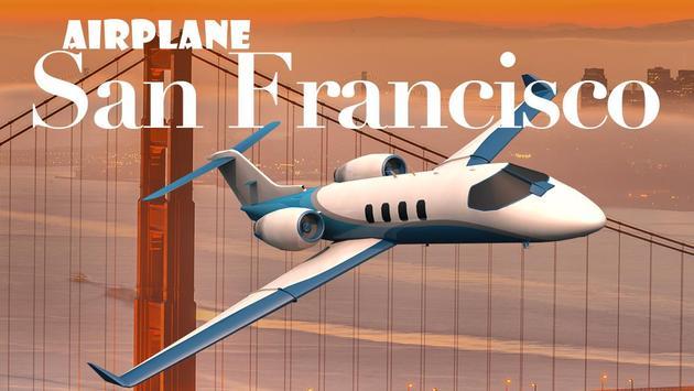 Airplane San Francisco poster