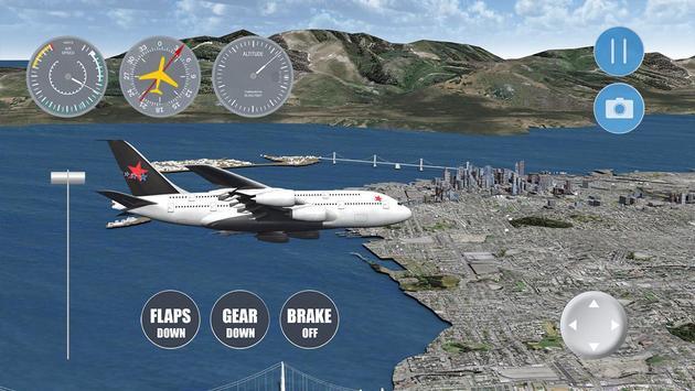 Airplane San Francisco screenshot 1
