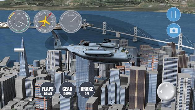 Airplane San Francisco screenshot 3
