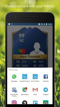 FUT Card Creator 21 screenshot 5