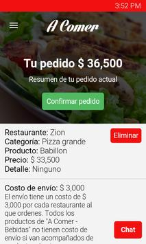 A Comer Domicilios apk screenshot