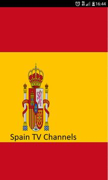 Spain TV channels poster