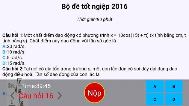 De thi Vat Ly THPT 2017 screenshot 10