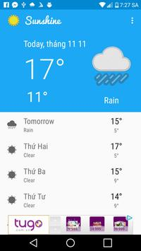 Weather Now screenshot 1