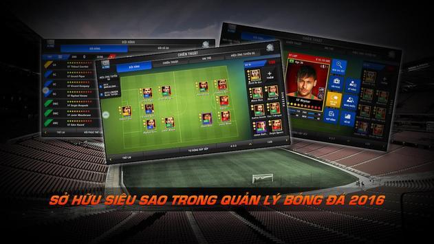 Quản Lý Bóng Đá Pro 2016 apk screenshot