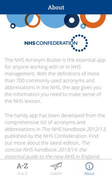 NHS Acronym Buster apk screenshot