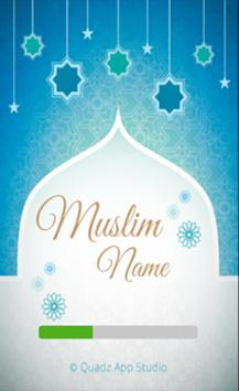Muslim Baby Names and Meanings ( Islamic Names ) poster