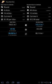 Pizza Slice Price apk screenshot