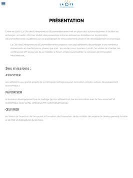 La Cité des Entrepreneurs screenshot 5