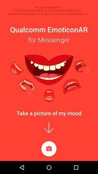 EmoticonAR for Messenger poster