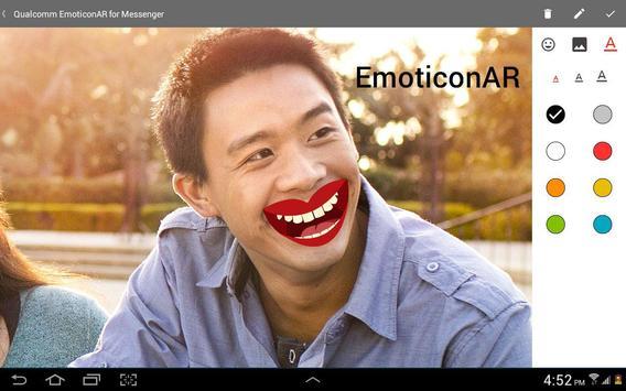 EmoticonAR for Messenger screenshot 10