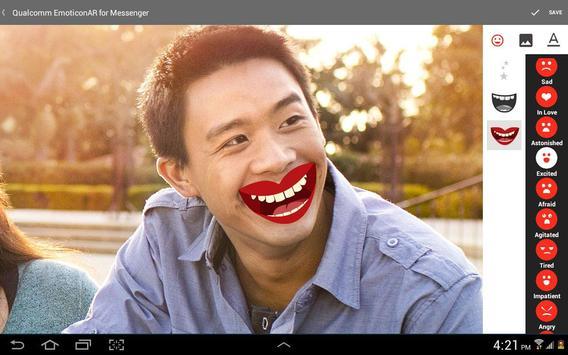 EmoticonAR for Messenger screenshot 11