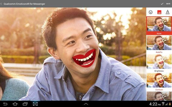 EmoticonAR for Messenger screenshot 12