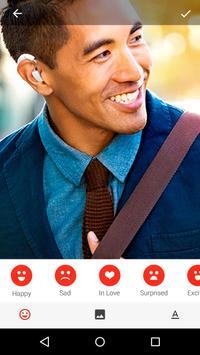 EmoticonAR for Messenger screenshot 2