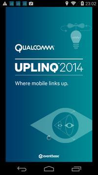 Qualcomm® Uplinq™ 2014 poster