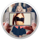 Girl body Scanner icon