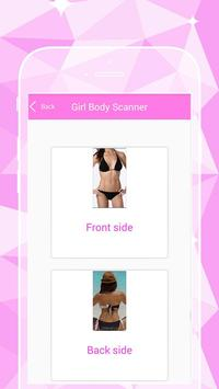 Girl body Scanner poster