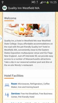 Quality Inn Westfield MA apk screenshot