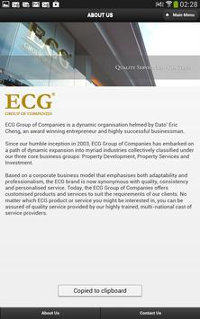 ECG Group of Companies apk screenshot