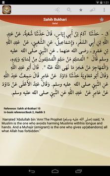 Hadith Collection - Sahih Bukhari , Muslim & More apk screenshot