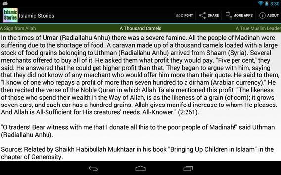 Islamic Stories apk screenshot