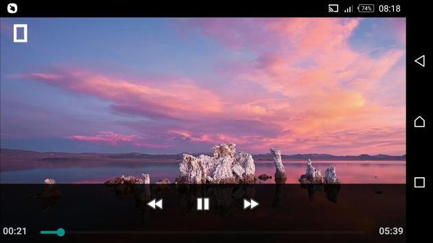 Mp4 Folder Video Player screenshot 1