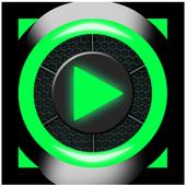 MP4 AVI OGG WAV Video Player icon