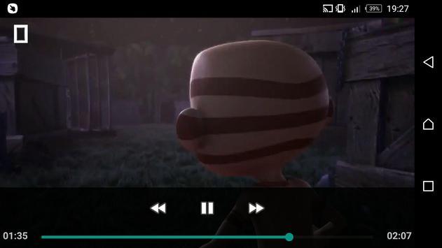 MP4 AVI OGG WAV Video Player screenshot 5