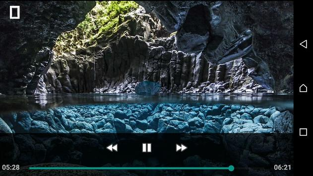 MP4 AVI OGG WAV Video Player screenshot 1