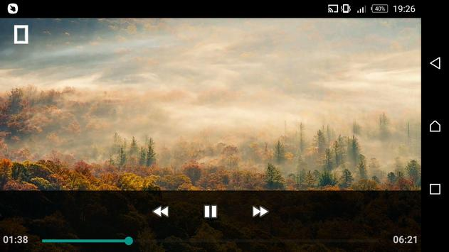 Mp4 Player Video Player screenshot 1