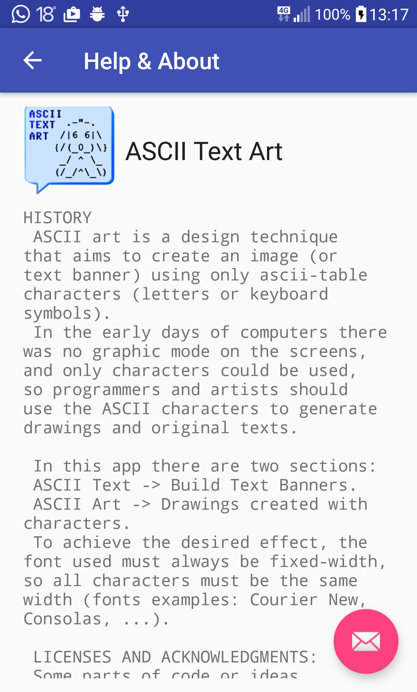 ASCII Text Art for Android - APK Download