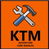 KTM Adventure Motorcycles Service Manual 2018 icon
