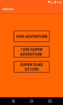 KTM Adventure Motorcycles Service Manual 2018 screenshot 4