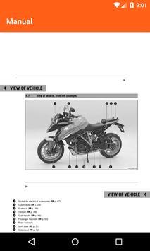KTM Adventure Motorcycles Service Manual 2018 screenshot 2