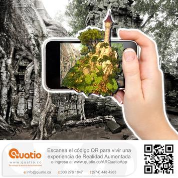 Quatio AR poster