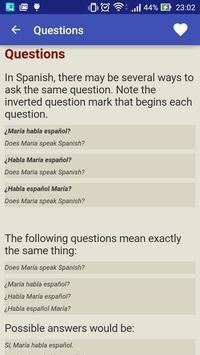 Speak Spanish screenshot 3
